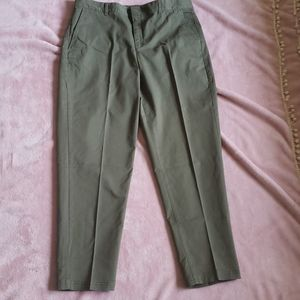 Banana Republic Green Chino Pant